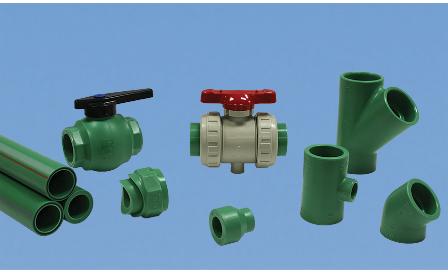 PP-RCT piping systems