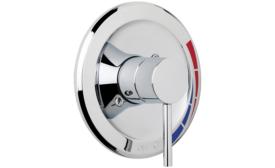 Pressure-balancing shower valve