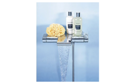 Thermostatic tub and shower valve