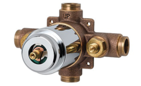 ADA-compliant shower valve