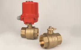 Brass ball valve from Jomar Valve