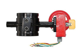 Butterfly valve from Tyco