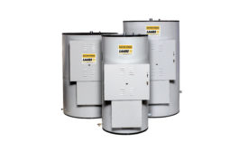 Commercial vertical electric water heaters from Laars
