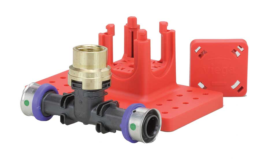 PEX Press fire protection fittings from Viega