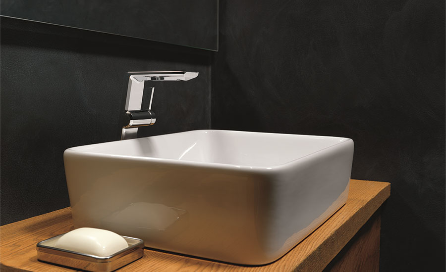 Contemporary bath spaces from Delta