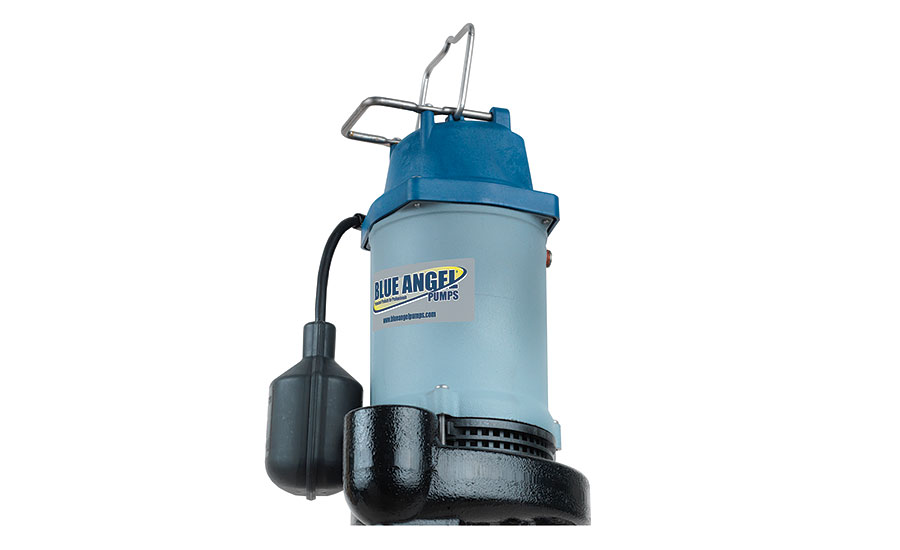 Cast iron pump from Blue Angel