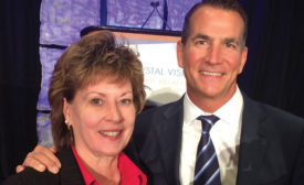 Former PMI Executive Director and CEO Barbara Higgens with David Kohler of Kohler Co