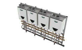 Tankless rack system from A. O. Smith