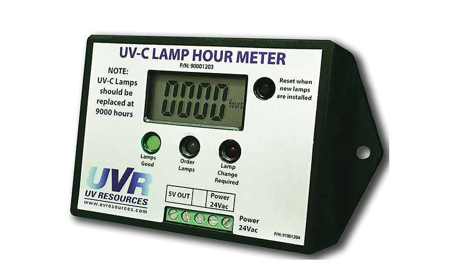 Lamp hour meter from UV Resources