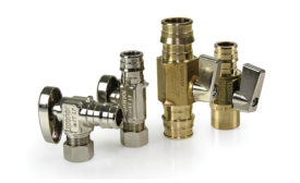 Lead-free brass valves from Uponor