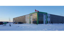 The new warehouse is located at 3603 Burron Avenue in Saskatoon, SK.