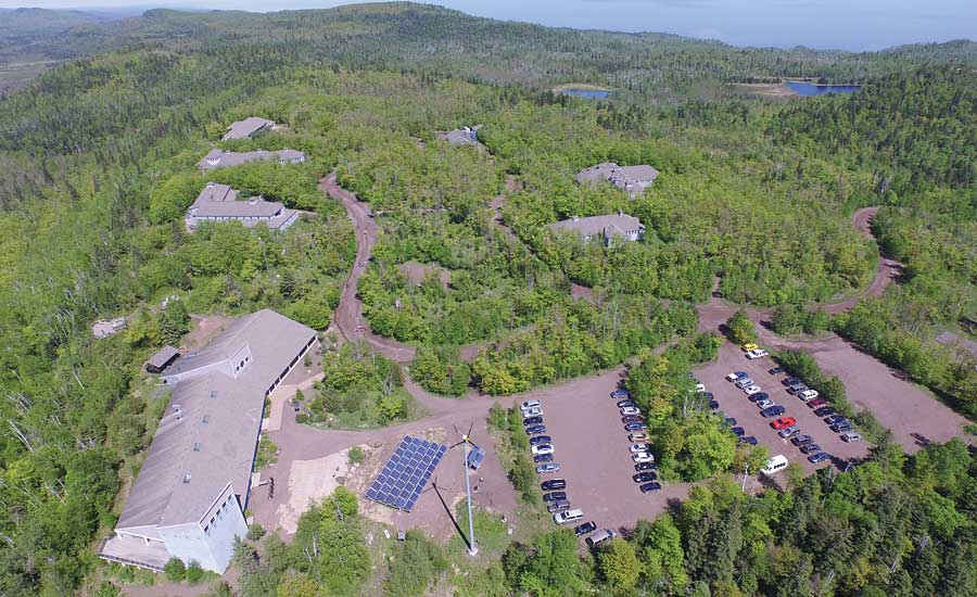 The Wolf Ridge Environmental Learning Center in Finland, Minn
