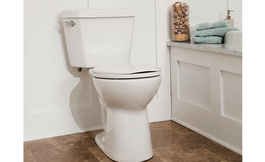 The DENALI Power Flush toilet from Mansfield Plumbing features a flushing performance that's more than 20% greater than the highest MaP rating