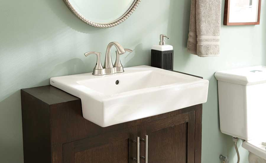 Semi Recessed Sink From Gerber