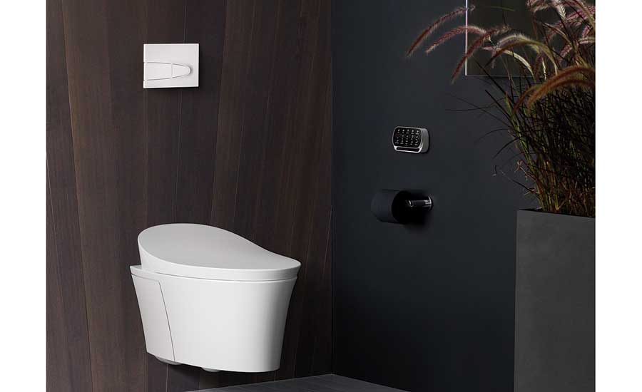 Wall-hung toilet from Kohler