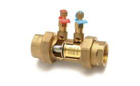 Solder or threaded end valves from Red-White Valve