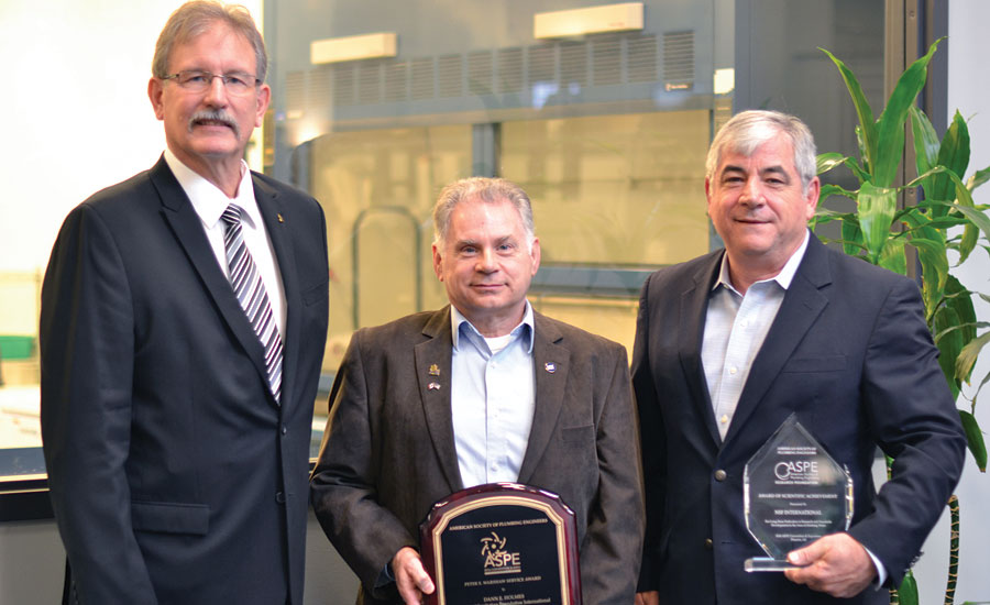 ASPE recognizes NSF International for scientific achievement