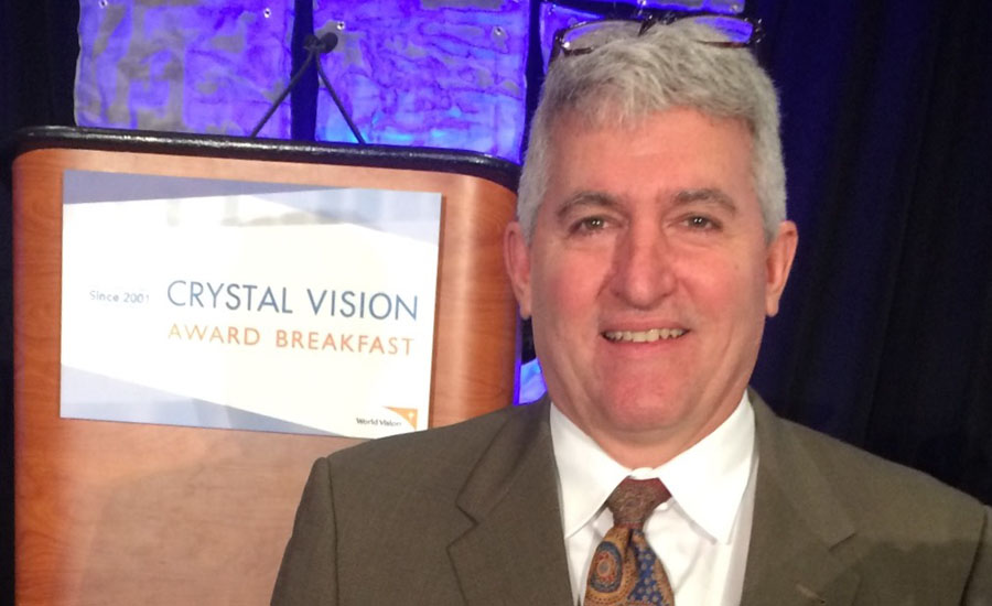 Mansfield Plumbing Products President Jim Morando attends the Crystal Vision Award Breakfast