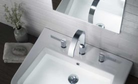 Mix-and-match bath fixtures from Isenberg