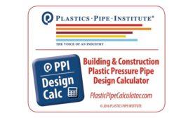 Pipe design calculator from Plastic Pipe Institute