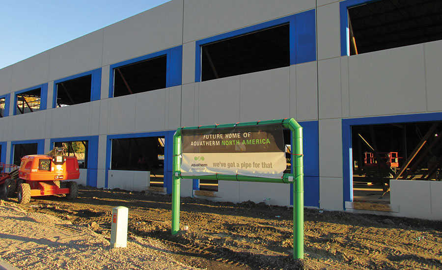 Aquatherm building new North American headquarters