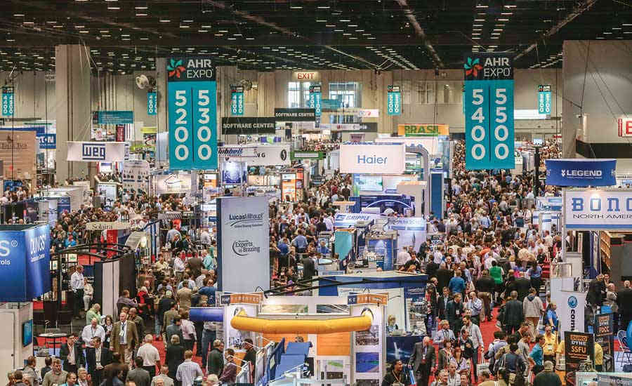 Nearly 2,000 companies will be exhibiting products at the 2017 AHR Expo in Las Vegas