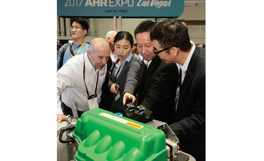 The AHR Expo presents many learning opportunities for industry contractors