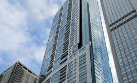 The 340 On The Park luxury residential high-rise in Chicago is a LEED Silver-certified complex