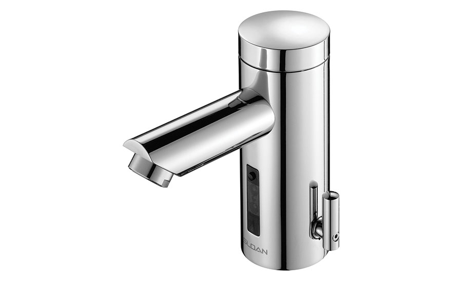 Low-flow rate faucets from Sloan