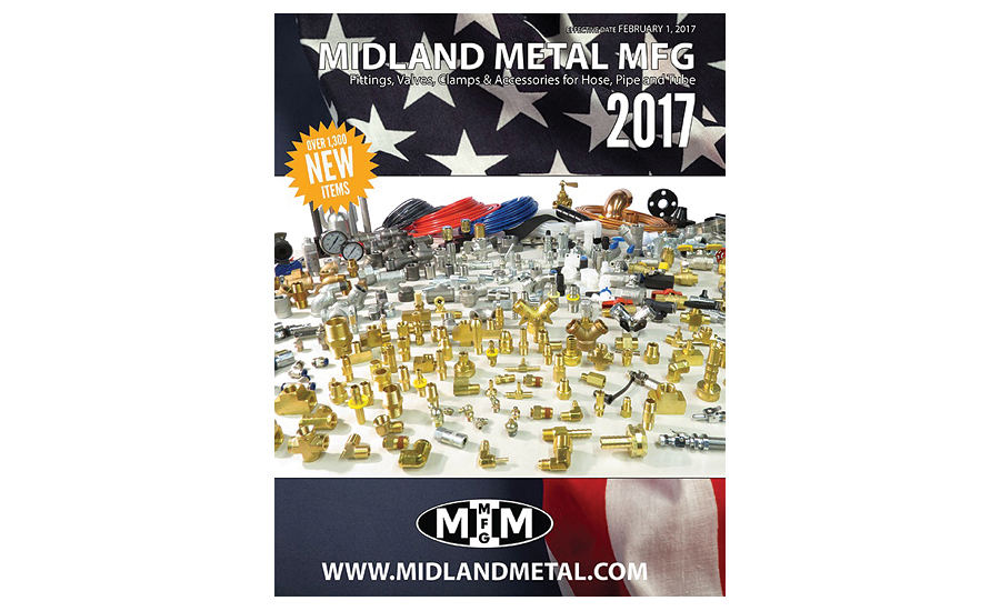 Product catalog from Midland Metal