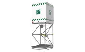 Emergency shower from Speakman Co.