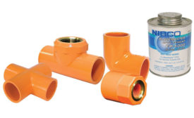 CPVC fittings from NIBCO