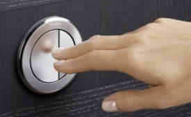 Pneumatic flush buttons from Geberit