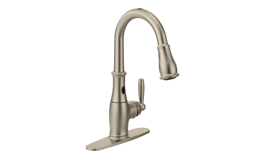 Hands-free faucet from Moen