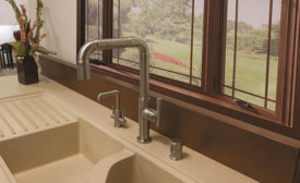 Pullout spray faucet from Sonoma Forge