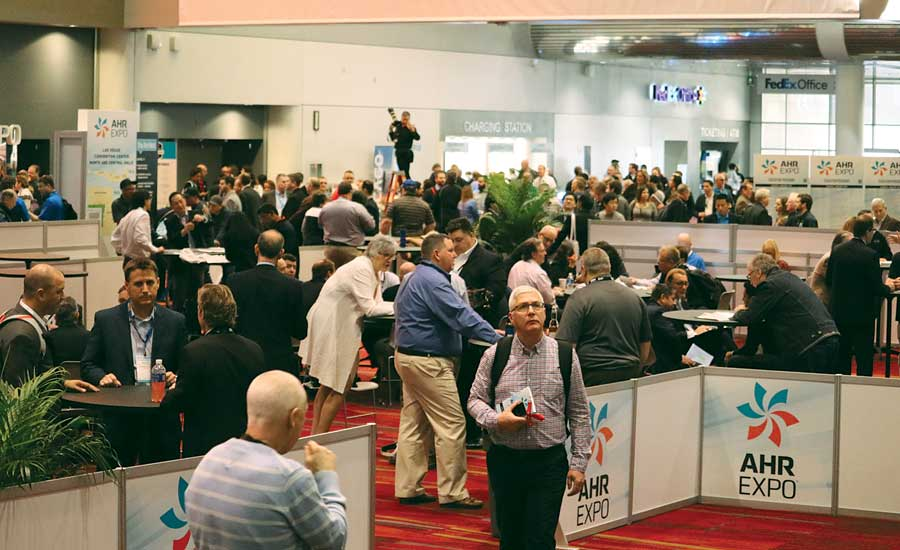 The 2017 AHR Expo drew a record-breaking 68,000 people to Las Vegas in January