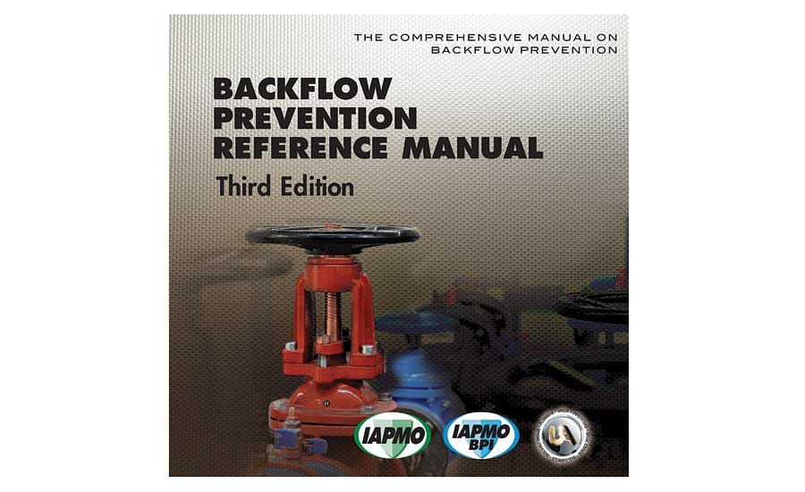 Backflow prevention reference manual