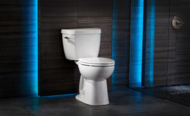 Side handle toilet from Niagara