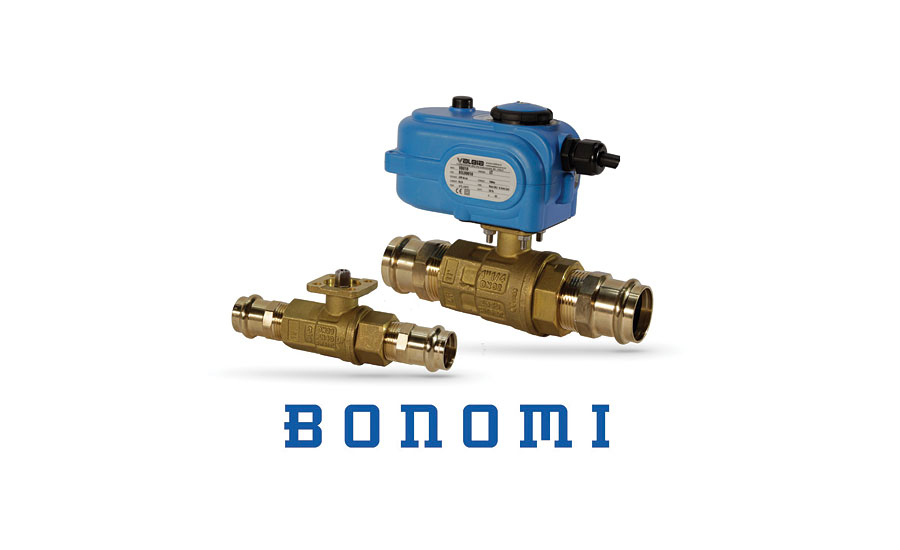 Ball valve package from Bonomi North America