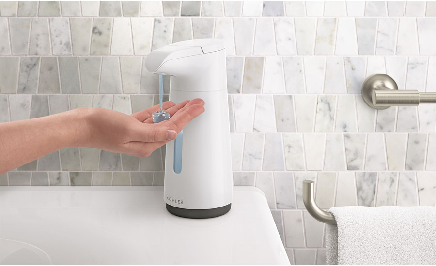 Touchless soap dispenser from Kohler