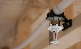 Fire sprinkler system by Uponor (2017 NFPA Expo)