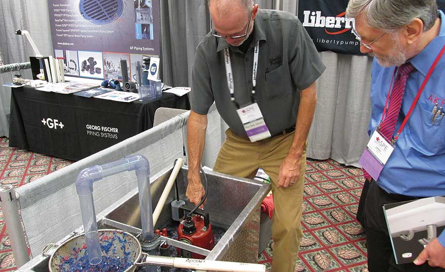 Steve Ritsema, Liberty Pumps' Canadian national sales manager