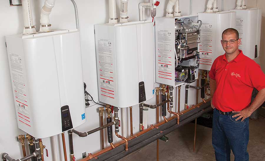 A-Plus Plumbing Heating and Cooling owner Jason Richards