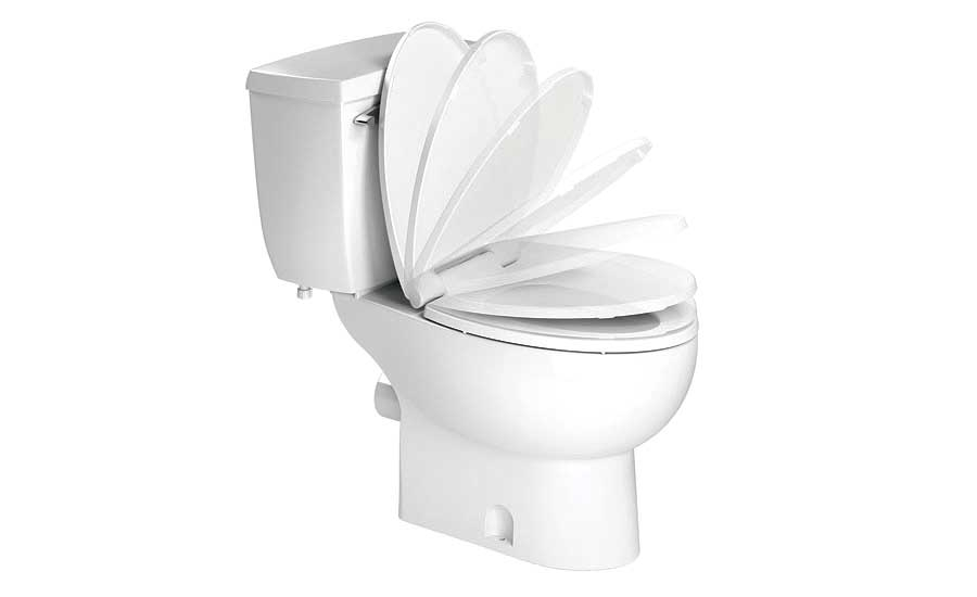 High-efficiency toilet bowls by Saniflo