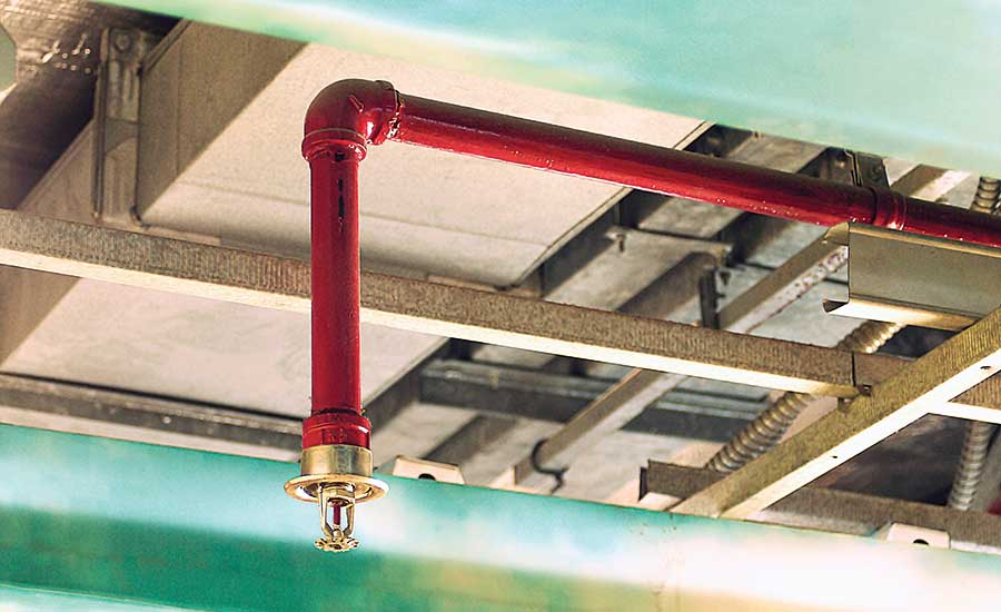 Backflow-prevention devices guard fire protection water entering potable supply