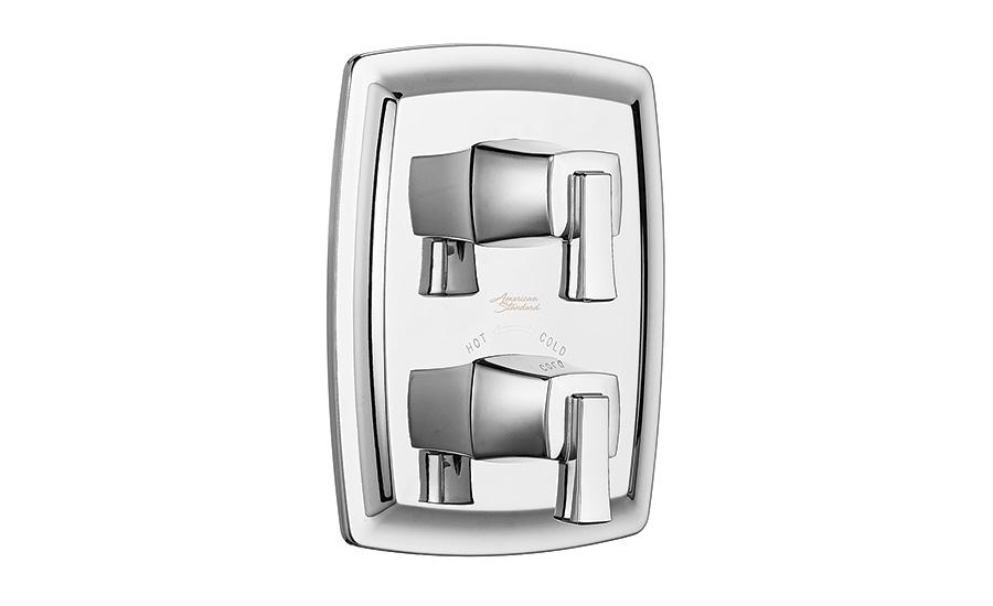 Two-handle thermostatic valve trim kit from American Standard