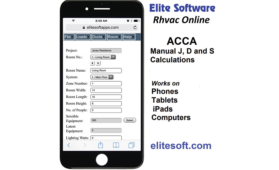 Web app from Elite Software