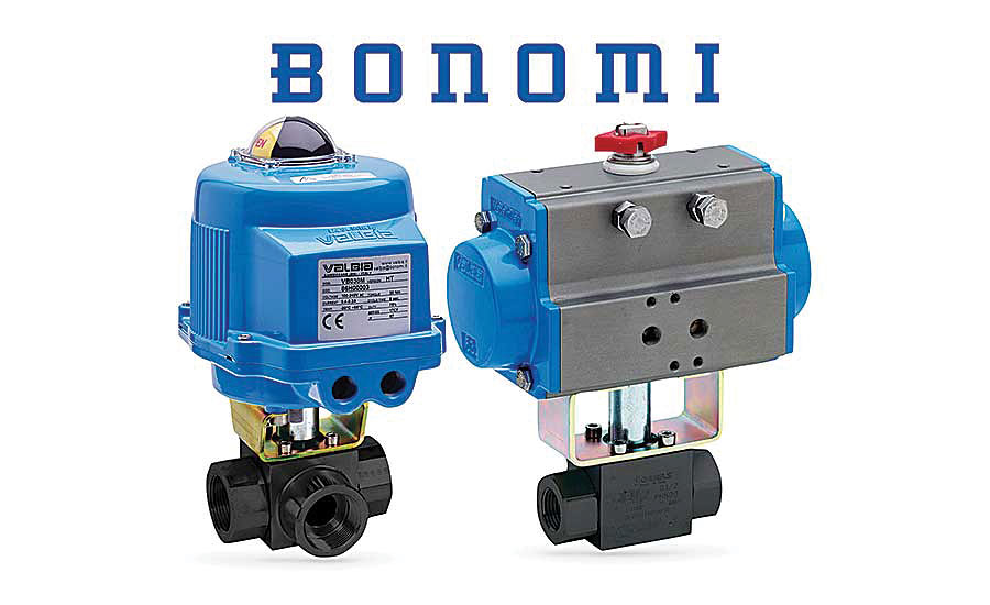 Bonomi High-Pressure Ball Valves