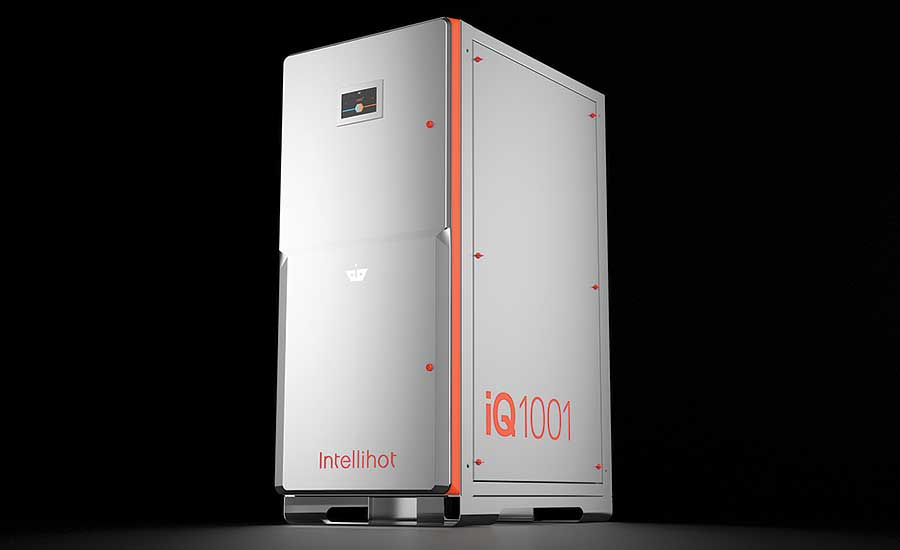 Smart tankless water heater from Intellihot