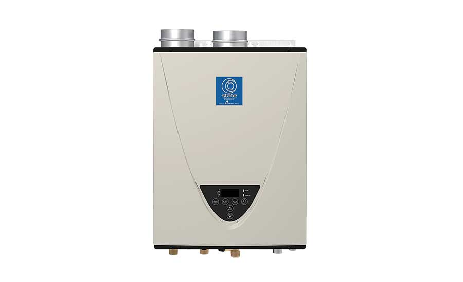 Tankless with integrated recirculating pump from State Water Heaters